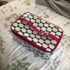 Authentic Kate space cosmetic/travel bag